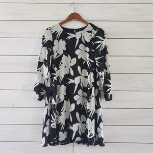 Show Me Your Mumu Black and White Floral Dress